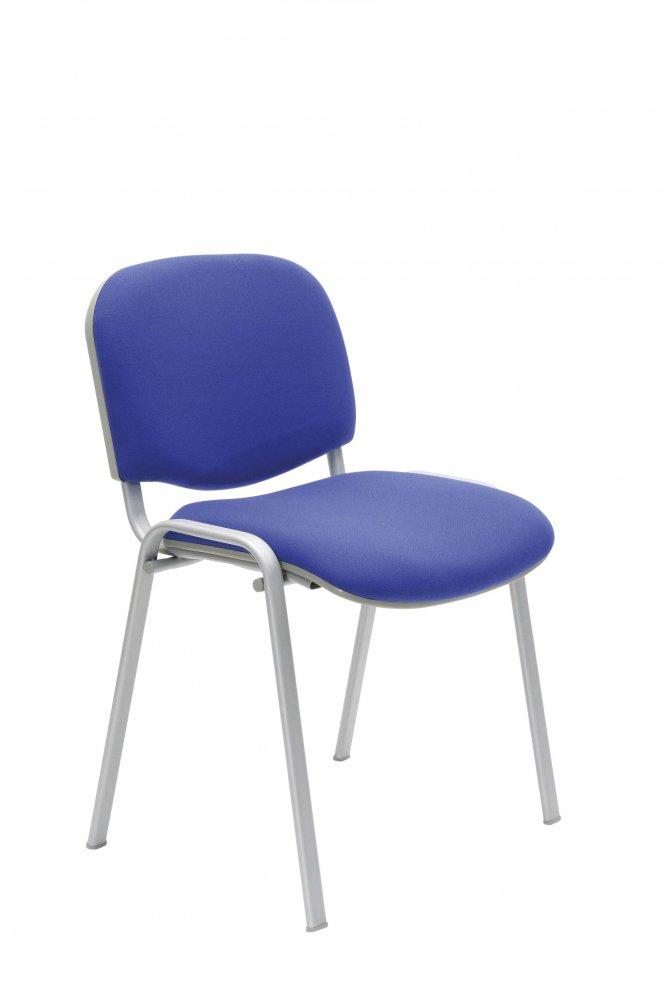 Konferenční židle Taurus S - šedá kovová konstrukce