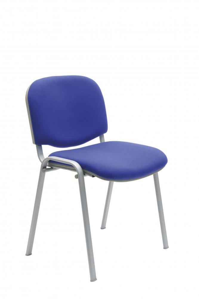 Židle konferenční - vyšší kvality 112 LUX S - šedá konstrukce