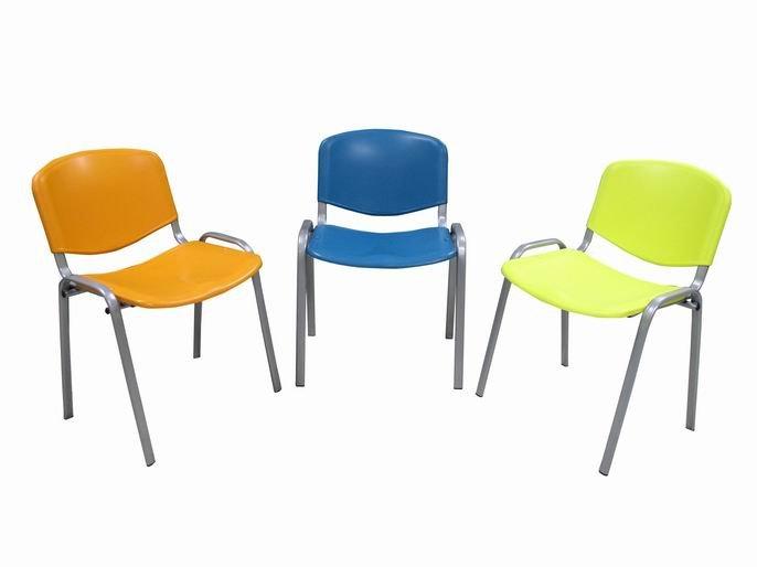 Konferenční židle - plast s kovovou konstrukcí 112-PL