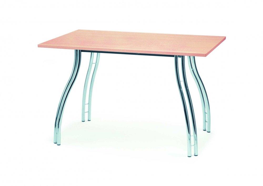 Jídelní stůl obdélník NORTON 18 120x80cm - kovový, deska lamino