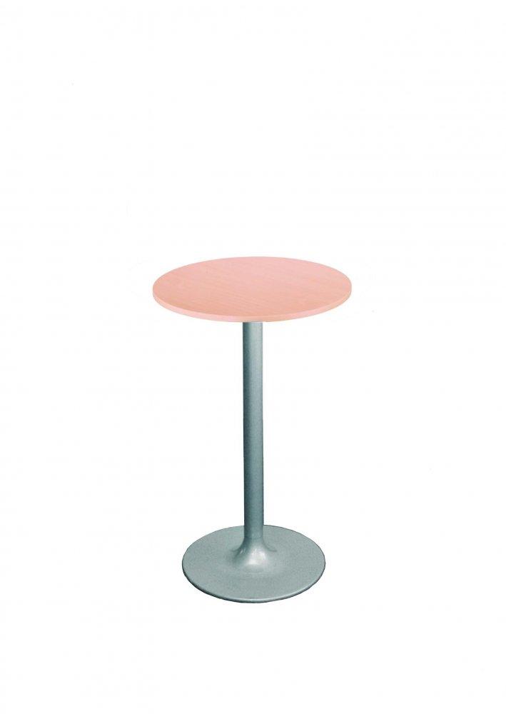 Barový stůl kovový ONTARIO 18 o prům. 60cm - podnož litinová