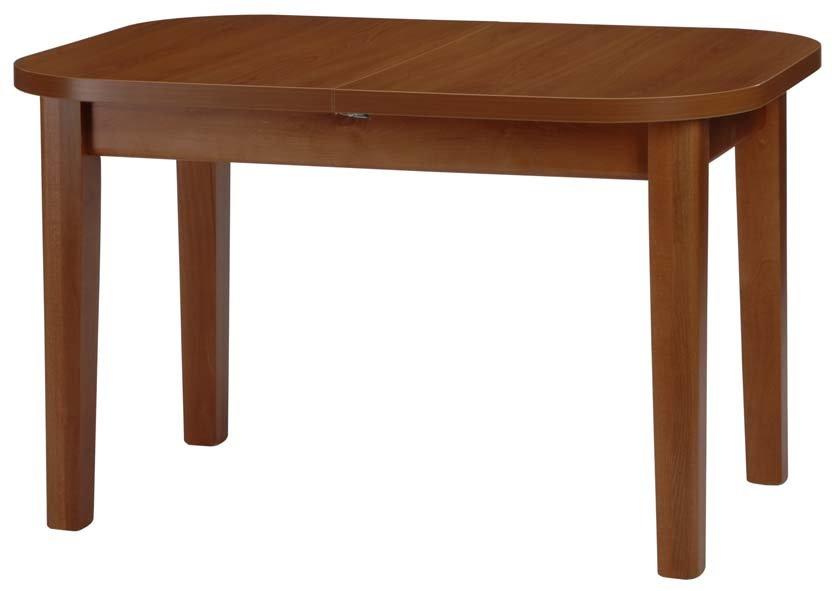 Stůl dřevěný, jídelní MINI FORTE 120x85/+40 cm - rozkládací