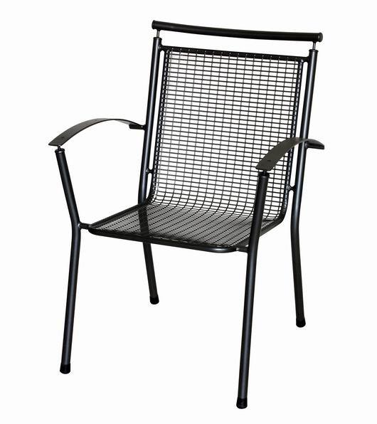 Zahradní nábytek - kovová židle QADRO DEMISSA