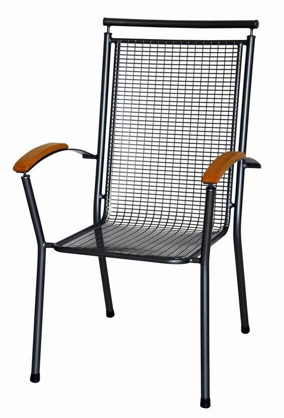 Zahradní nábytek - kovová židle QADROS