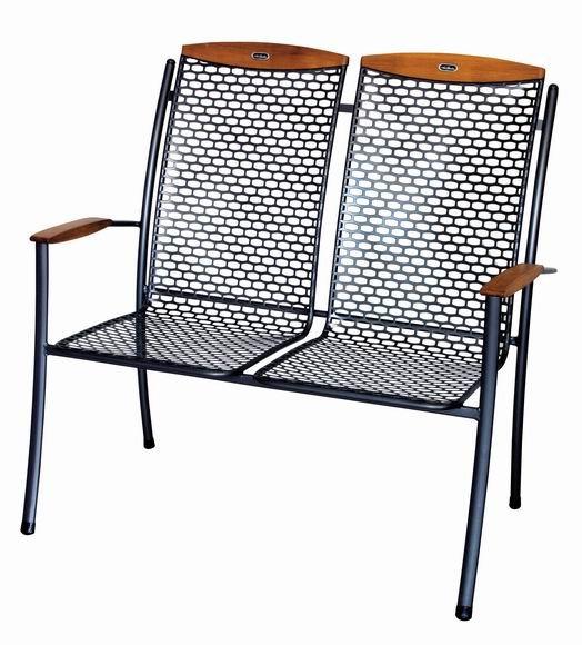 Zahradní nábytek - kovové židle double PRINCES DOUBLE
