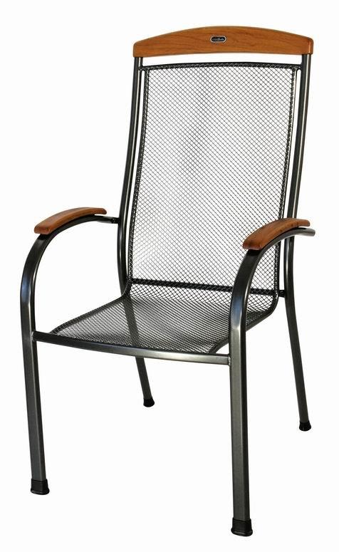 Zahradní nábytek - kovová židle SEDRAS