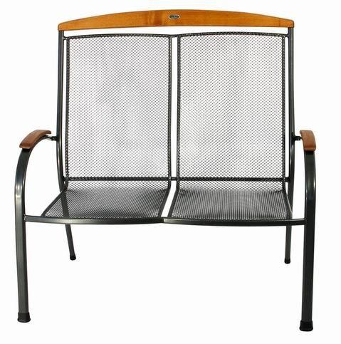 Zahradní nábytek - kovová lavice SEDRAS DOUBLE