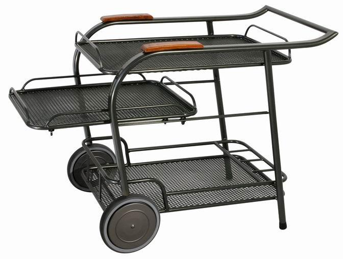 Zahradní nábytek - kovový servírovací stolek SEDRAS SERVIUTOR