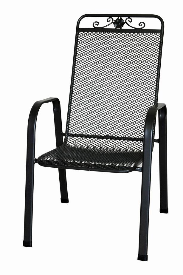 Zahradní nábytek - židle kovová SIENA