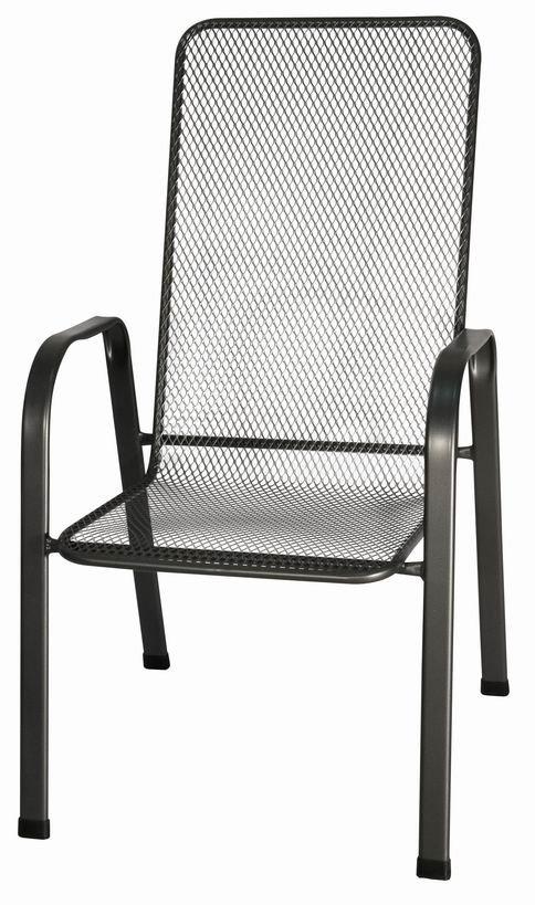 Zahradní nábytek - židle kovová SIERRA
