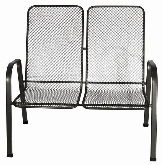 Zahradní nábytek - kovová lavice SIERRA DOUBLE