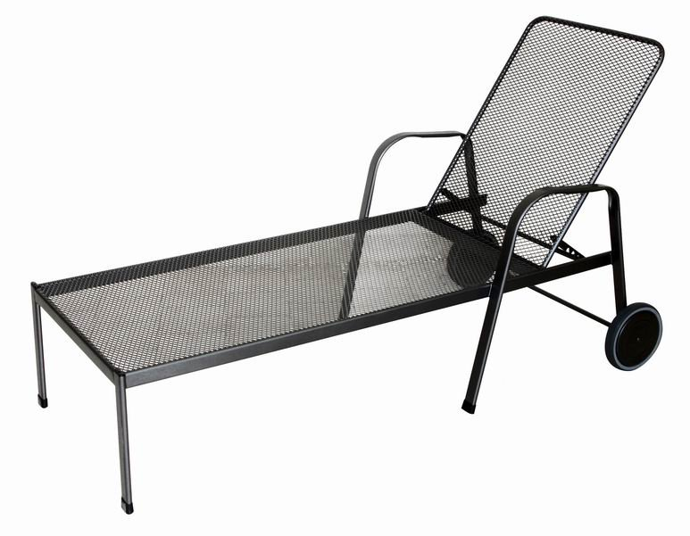 Zahradní nábytek - kovové lehátko SIERRA SPONDA