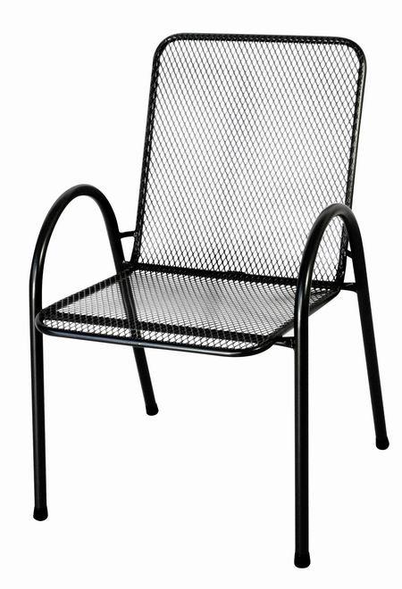 Zahradní nábytek - kovová židle ILLY