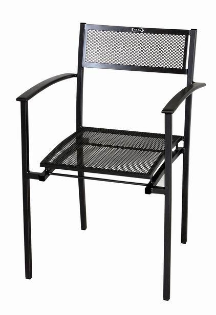 Zahradní nábytek - kovová židle FINEX