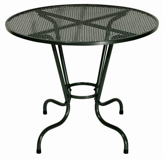Zahradní nábytek - kovový stůl SIMPL kulatý 70cm