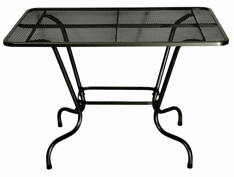 Zahradní nábytek - kovový stůl SIMPL obdélník 110 x 80 cm