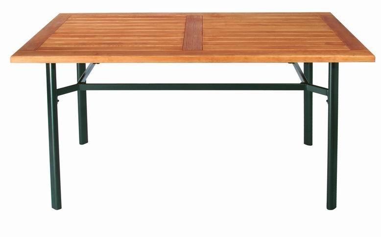 Zahradní nábytek - kovový stůl SANRE SILVA 140x80cm
