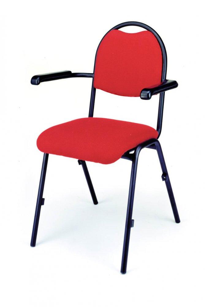 Židle konferenční, kovová 358/BRENDA PLUS