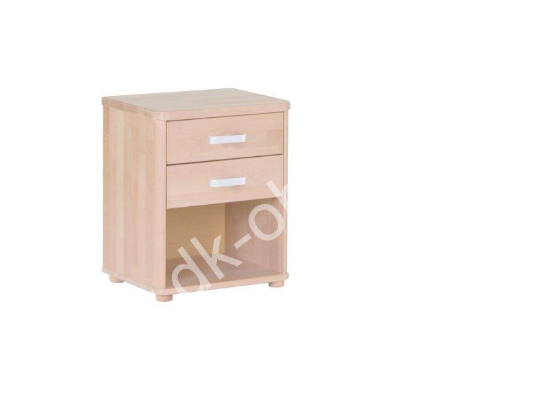Noční stolek 059B - ROBIN - 2 zásuvky