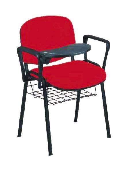 Konferenční židle TAURUS čalouněná s područkami a stolkem