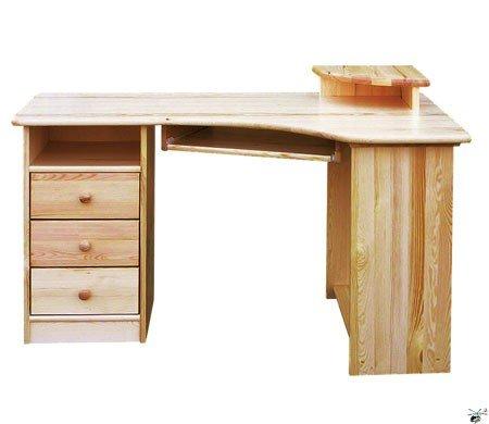 Psací stůl 132 - masiv borovice