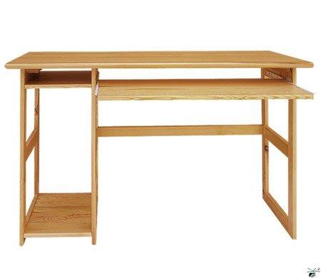 Stůl na PC 10 - masiv borovice