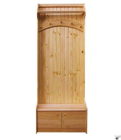 Předsíňová stěna 29 - masiv borovice