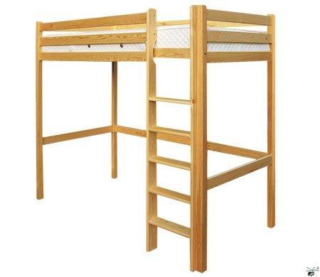 Patrová postel 128 - masiv borovice