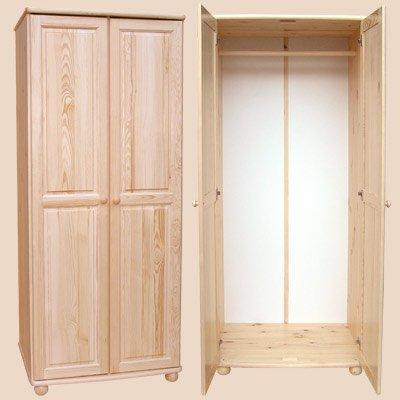 Šatní skříň 1 - masiv borovice