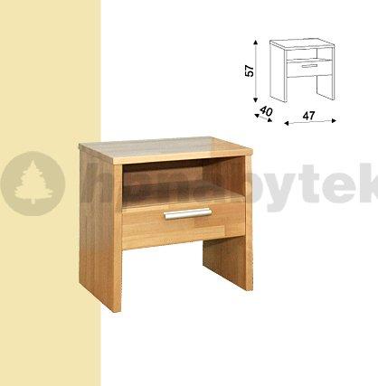 Noční stolek Erik 095B BUK
