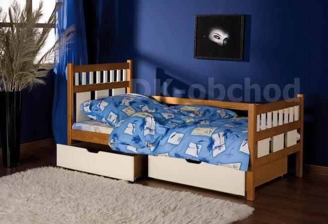 Dětská postel s úložným prostorem Luiza