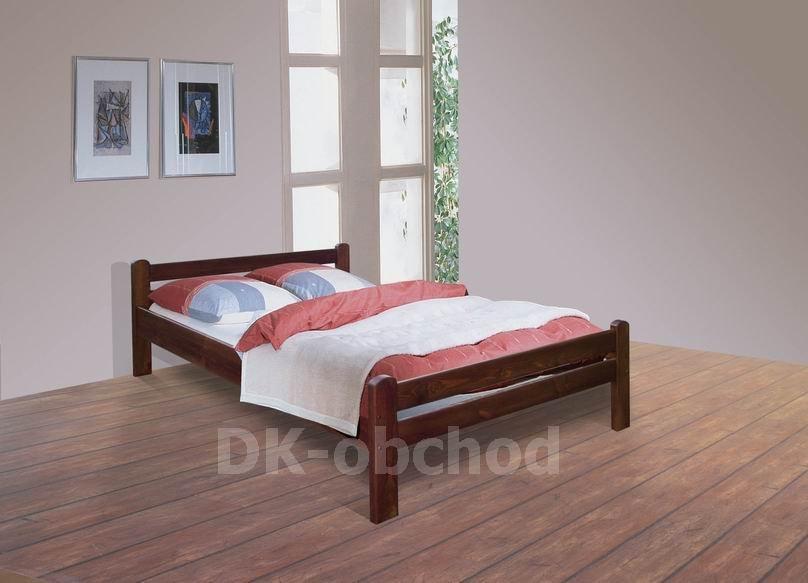 Manželská postel Viktoria (140x200)