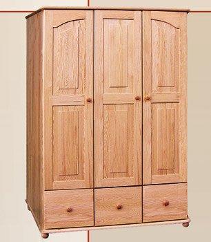 Šatní skříň 11 - masiv borovice