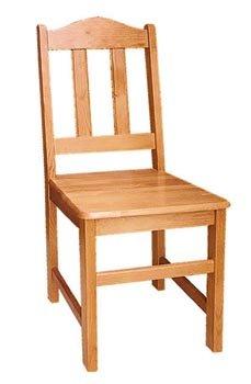 Dřevěná židle 215 - masiv borovice