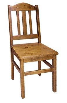 Dřevěná židle 217 - masiv borovice