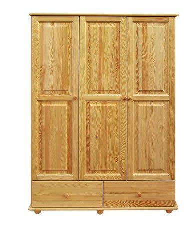 Šatní skříň 19 - masiv borovice