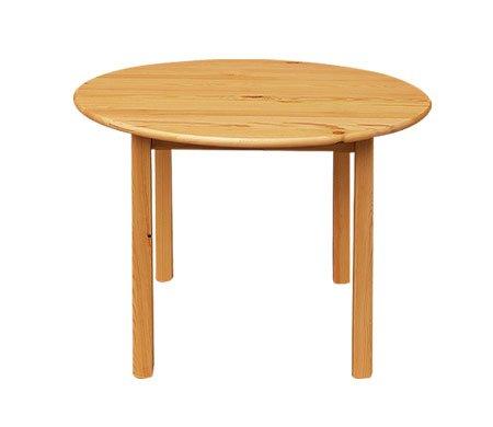 Jídelní stůl kulatý 177 - masiv borovice