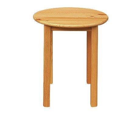 Jídelní stůl 180 kulatý - masiv borovice