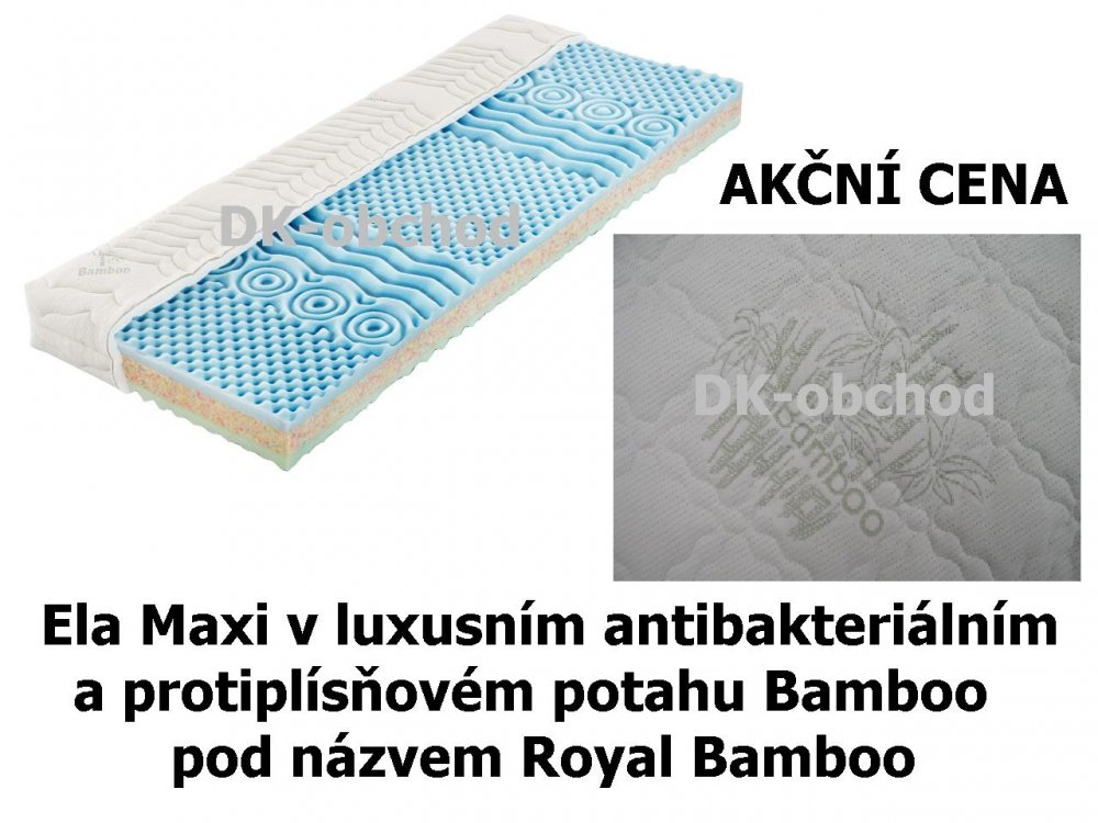 Matrace Royal Bamboo - AKCE ! (90x200)