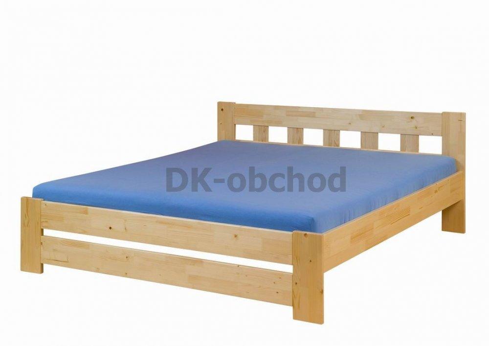 Manželská postel Filip senior smrk - 140x200
