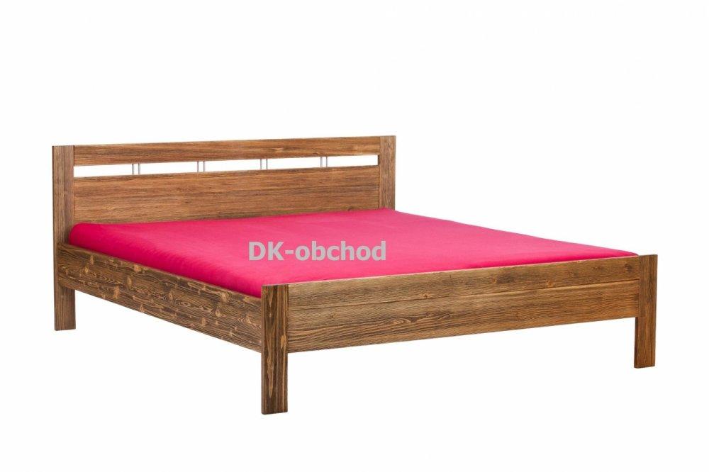 Manželská postel - DAISY letiště senior - smrk 180x200