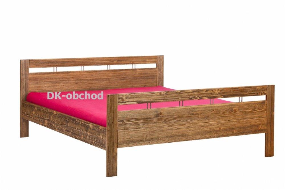 Manželská postel - DAISY l senior - smrk 180x200