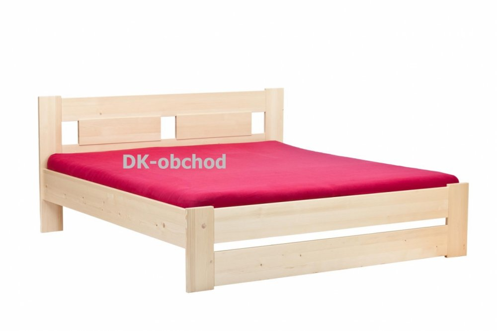 Manželská postel Cameron senior smrk - 160x200