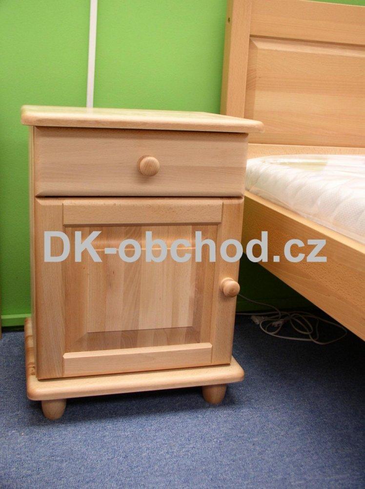 Noční stolek 215 - masiv buk