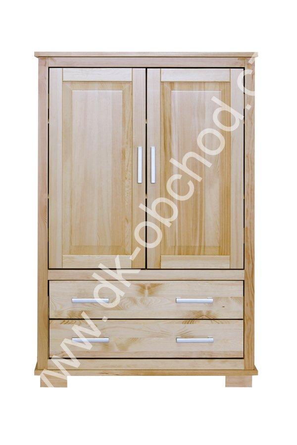 Komoda 119 - masiv borovice - 90x140