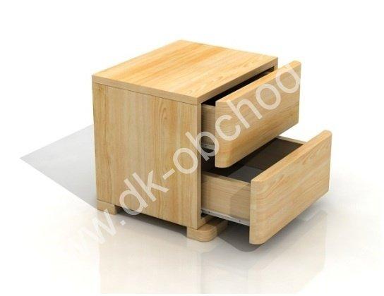 Noční stolek masiv Sandemo 2S