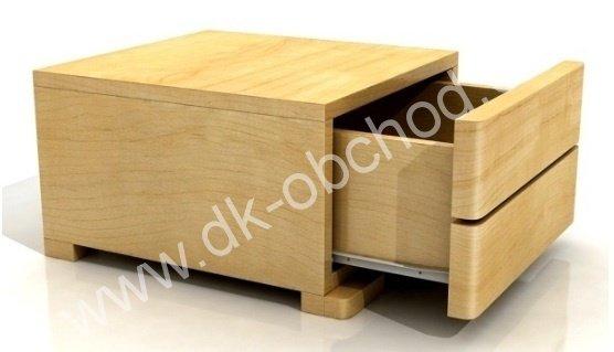 Noční stolek z masivu Sandemo 1S