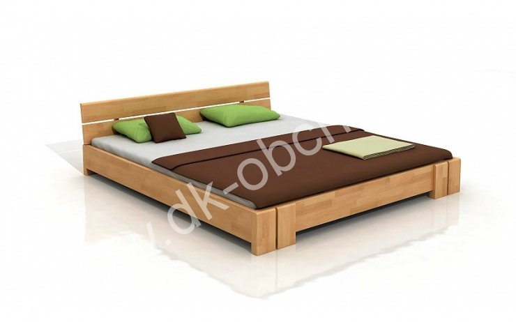 Buková postel z masivu Arhus 200x200