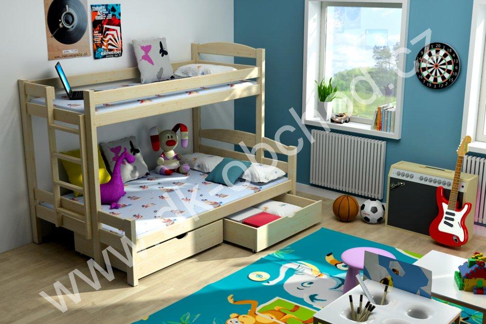 Patrová postel Savana