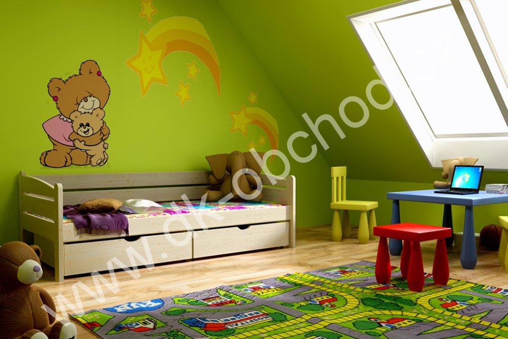 Dětská postel s úložným prostorem Zuza